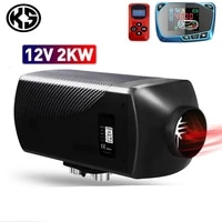 ks car heater 12v 2kw car diesels air parking heater lcd remote control monitor switch for trucks bus trailer heater