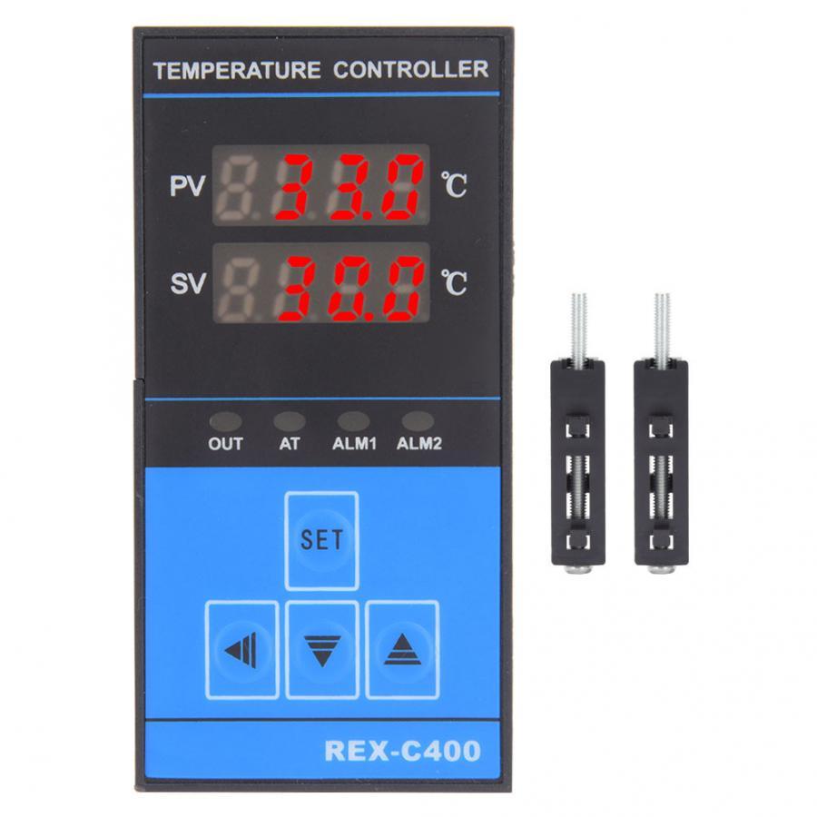 Meteo Station Digital Temperature ControllerIntelligent RELAY+SSR Output 0-400 220VAC 50/60HZ Thermostat