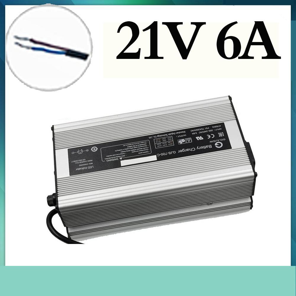 Cargador inteligente de la batería de iones de litio de 672W 21V...
