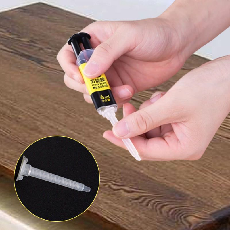 Pegamento de resina epoxi Universal AB de 4ML/25ML pegamento líquido pegamento fuerte pegamento de reparación del hogar para Metal, cerámica, plástico caliente