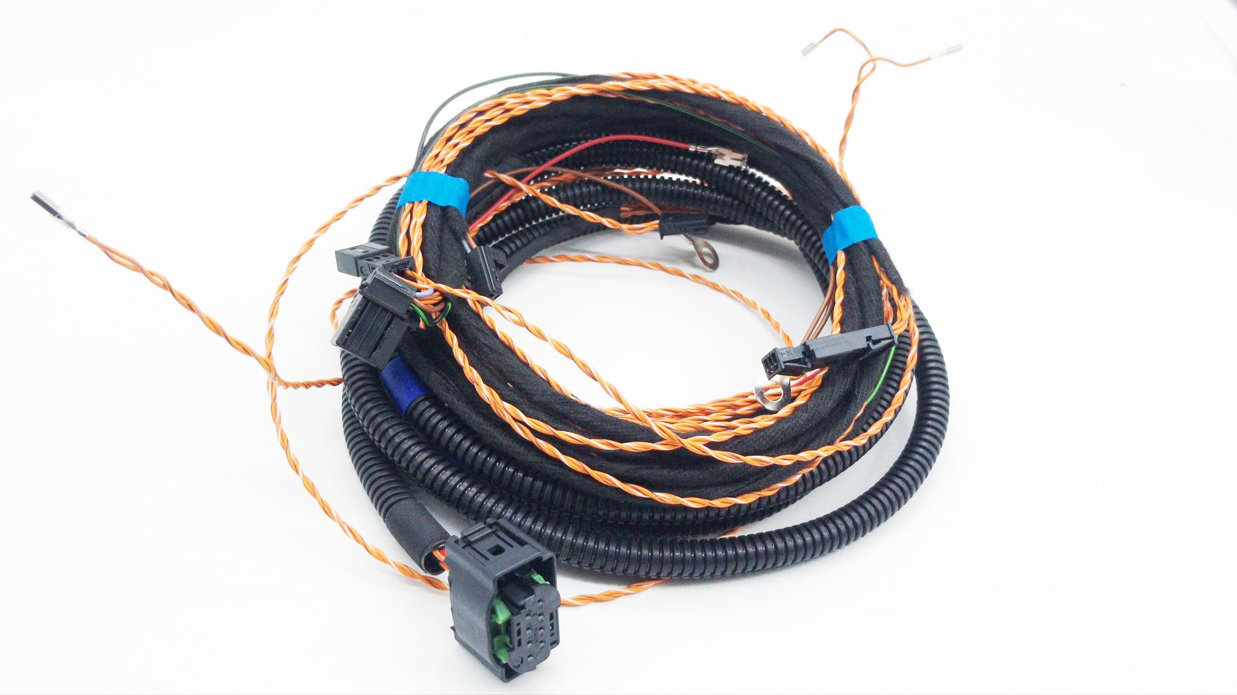 Sistema de mantenimiento de cambio de carril asistente de carril ACC adaptable cable de crucero arnés cámara frontal uso para Audi MQB para VW Golf 7 MK7