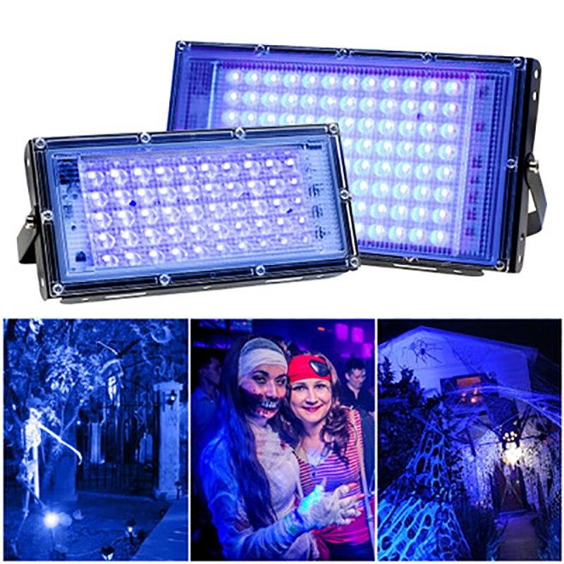 395 нм ультрафиолет поток свет УФ лечение свет +флуоресцентный вечеринка сцена свет черный свет драма шоу свет привидения дом свет