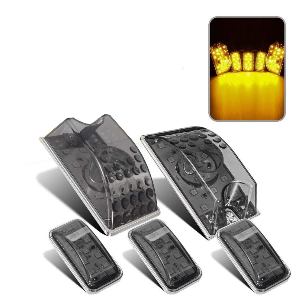 Led авто внедорожник кабина маркер крыша Бег Топ световые сигнальные лампы купольные огни 12V Для Hummer H2 SUT 2003-2009