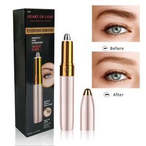 Eyebrow Epilator Maquiagem Painless Eye BrowTrimmer Trymer do brwi Brow Depilador de cejas Eye brow Shaper Women Makeup