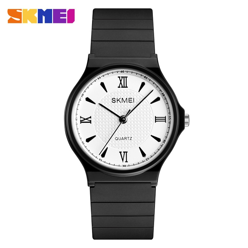 SKMEI NEW Simple ladies Watches Elegant Ladies Quartz Watch PU Strap Waterproof Women Watches  Relogio Feminino Reloj Mujer enlarge