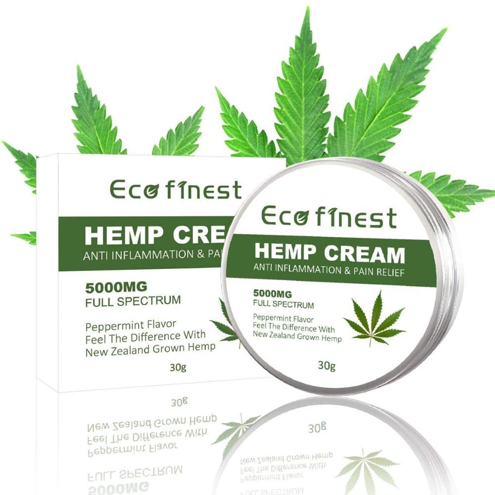 Hemp Cream for Pain Relief - 5000 MG Hem Extract Aloe Vera, Hem Oil for Muscle, Joint, Sciatica & Back Pain -Anti-Inflammatory недорого