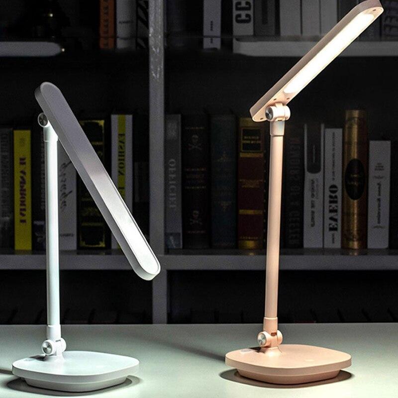 LED lampe de garde oculaire USB étudiant dortoir chambre lire pliant charge petite veilleuse