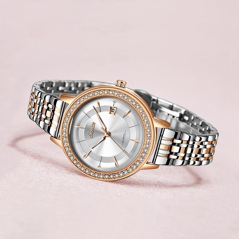 SUNKTA Luxury Fashion Women Watches Waterproof Casual Quartz Ladys Watch for Woman Dress Ladies Wristwatches Relogio Feminino enlarge