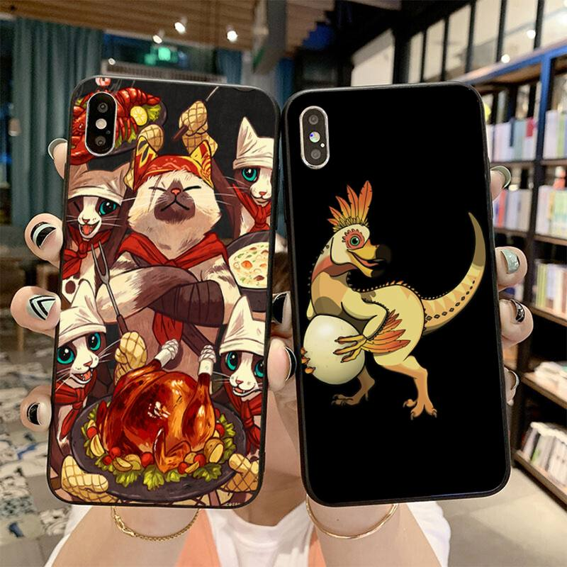 HPCHCJHM monstruo cazador mundo DIY funda de teléfono de lujo para iPhone 11 pro XS MAX 8 7 6 6S Plus X 5S SE 2020 XR caso