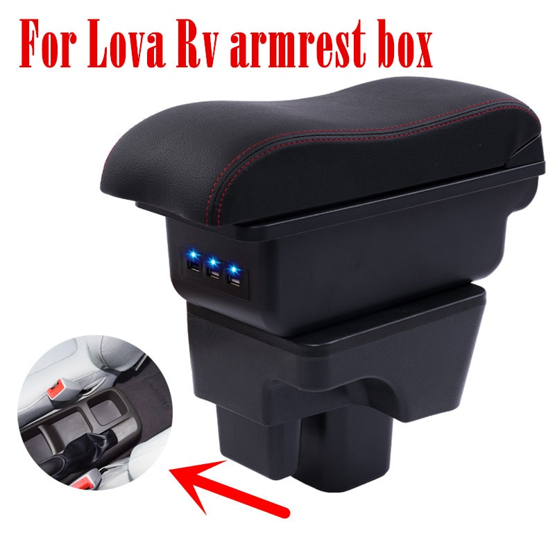 Для Chevrolet Lova Rv подлокотник коробка центральный магазин содержание интерьера