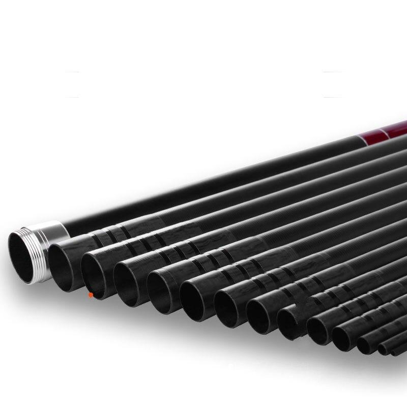 8/9/10/11/12/13 Power Hand Rod High Carbon Fiber Telescopic Wedkarstwo Olta Long Section Hand Pole Fishing Sticks Vara De Pesca enlarge
