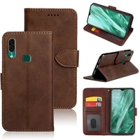 mks luxury pu leather flip wallet back case for leagoo s11 smartphone stand card cover holder bag with id card slot