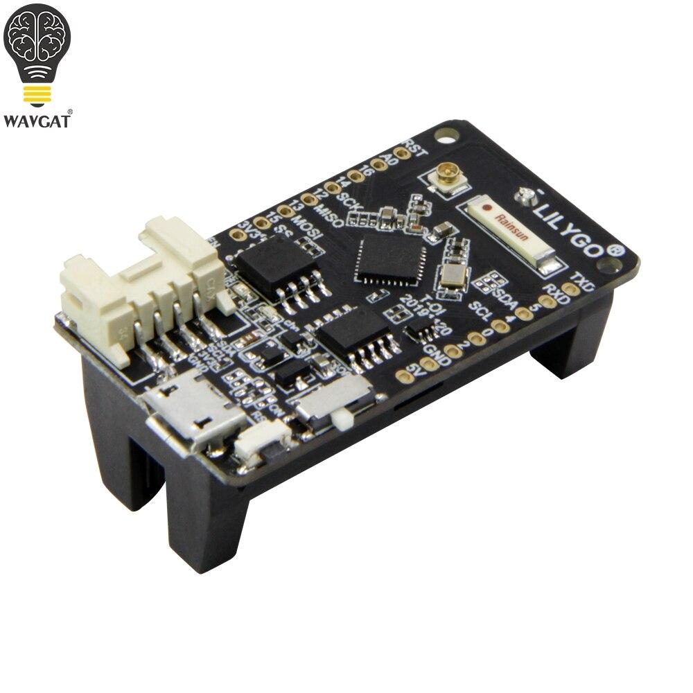 TTGO T-OI ESP8266 Chip recargable 16340, soporte de batería Compatible con MINI Placa de desarrollo D1 para arduino