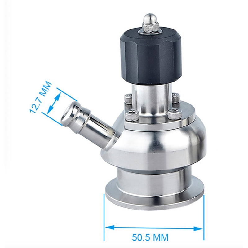 Clamped SS304/SS316L Sanitary Water Sampling Valve enlarge