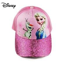 Disney Aisha Hat Childrens Sun Hat Baseball Cap Sunscreen Sun Girl Grid Breathable Hat