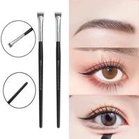 makeup brushes new high light mini fan eye liner cream brush eyebrow eyeshadow brush professional tools