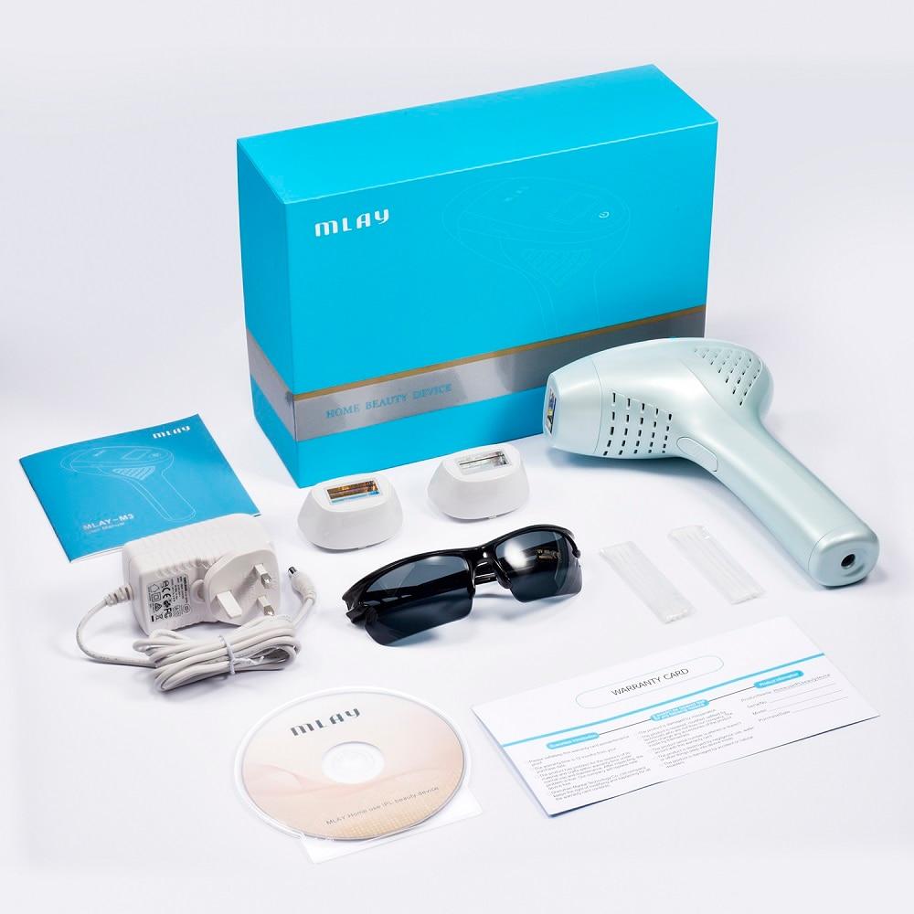 2021 NEW MLAY M3 The latest version MLAY Laser Depilador a Laser IPL Hair Removal Machine Epilator Permanent Bikini Trimmer FDA enlarge