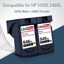UniPlus 545XL 546XL Pixma Impressora de Cartucho de Tinta Compatível para Canon PG545 CL546 Ip2850 TS205 MX495 MG2450 2550 2550S 305 3150
