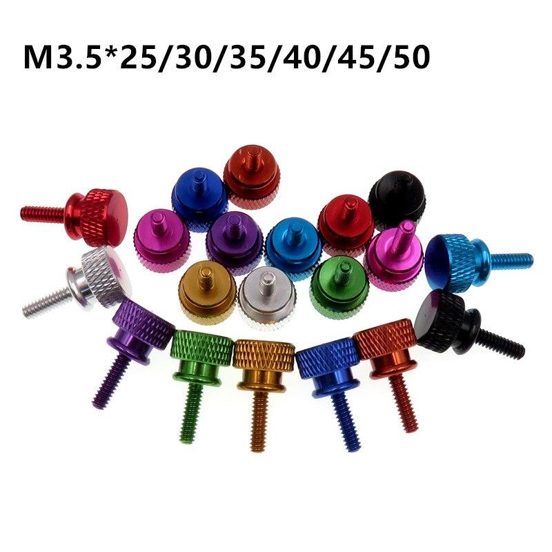 M3.5 Красочные Винт алюминиевая Накидная головка чехол для компьютера ручной