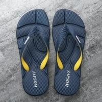 hot fashion blue massage slippers men flip flops big size 46 casual slides men non slip beach indoor slippers me