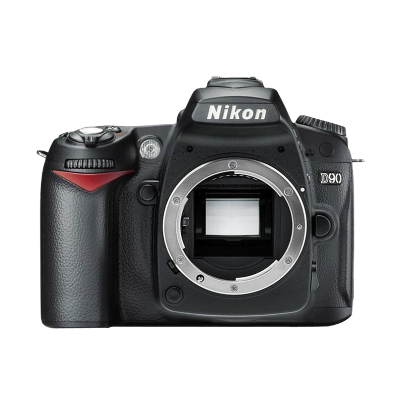 كاميرا نيكون مستعملة D90 ، تنسيق DX ، CMOS ، DSLR (الهيكل فقط)