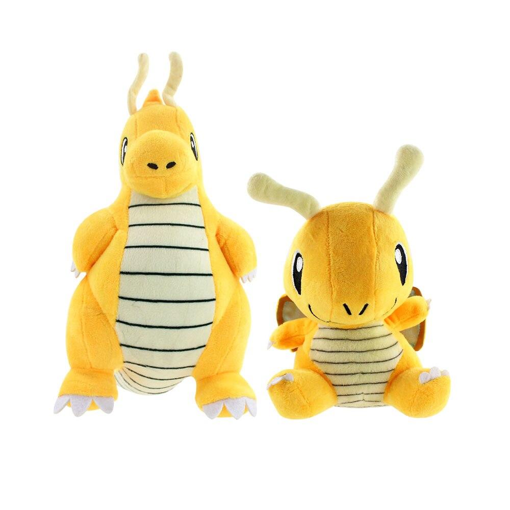 Плюшевые игрушки, Мультяшные аниме, желтый дракон, мягкие куклы, 18-32 см