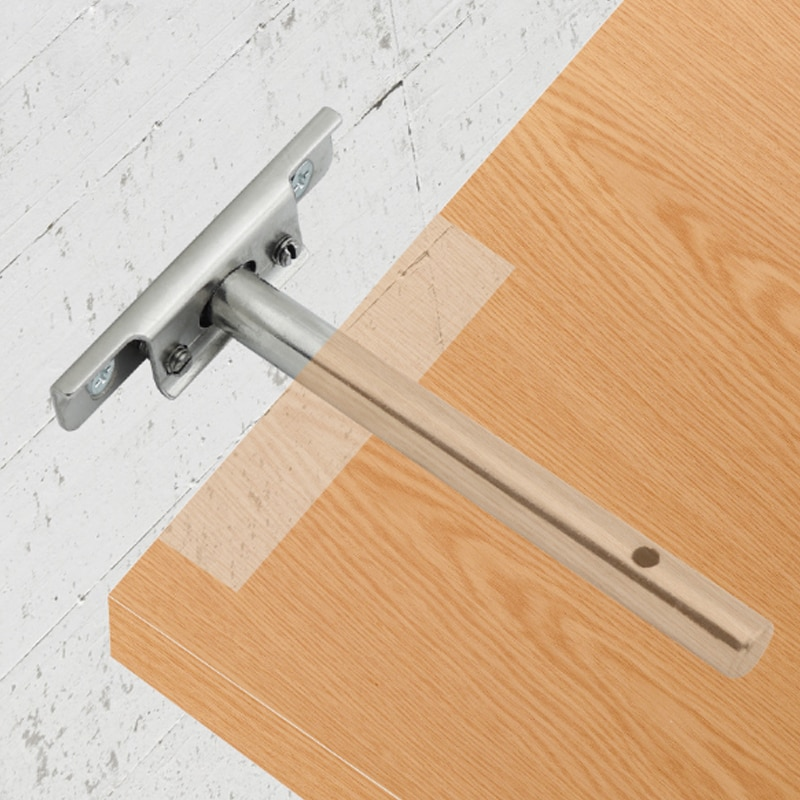 1 Uds. Estantería de pared flotante oculta resistente, soporte de pared de soporte estante de soporte, estantería DIY, soporte oculto en forma de T