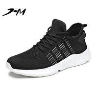 sneakers men big size casual shoes mens designer mesh surface platform wear resistant running black shoes breathable comfortable