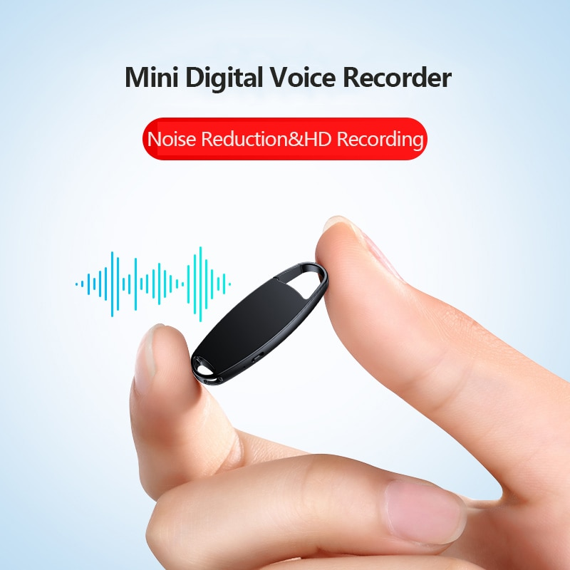 V13 Keychain 16GB USB Voice Activated Recorder Mini Dictaphone Professional Recording MP3 Flash Drive Digital Audio Record enlarge