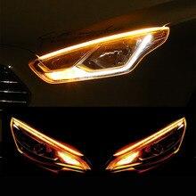 2x voitures ultrafines DRL LED feux de jour Streamer clignotant pour Cadillac XTS SRX ATS CTS/Renault Koleos Fluenec