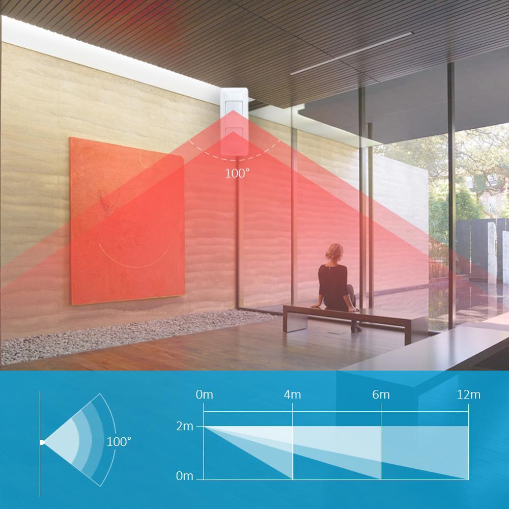 Outdoor Waterproof Wired Dual Tech Alarm Sensor Dual PIR and Microwave PIR Detector for Home Security Pet Immunity enlarge