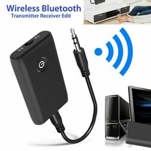 2 in 1 Bluetooth 5.0 Transmitter Receiver TV PC Car Speaker 3.5mm AUX Hifi Music Audio Adapter/Headp