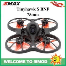 EMAX Tinyhawk S BNF FPV Racing Drone TH Avan hélice F4 FC 5A Blheli_S ESC H0802 moteur sans balais avec caméra CMOS 600TVL