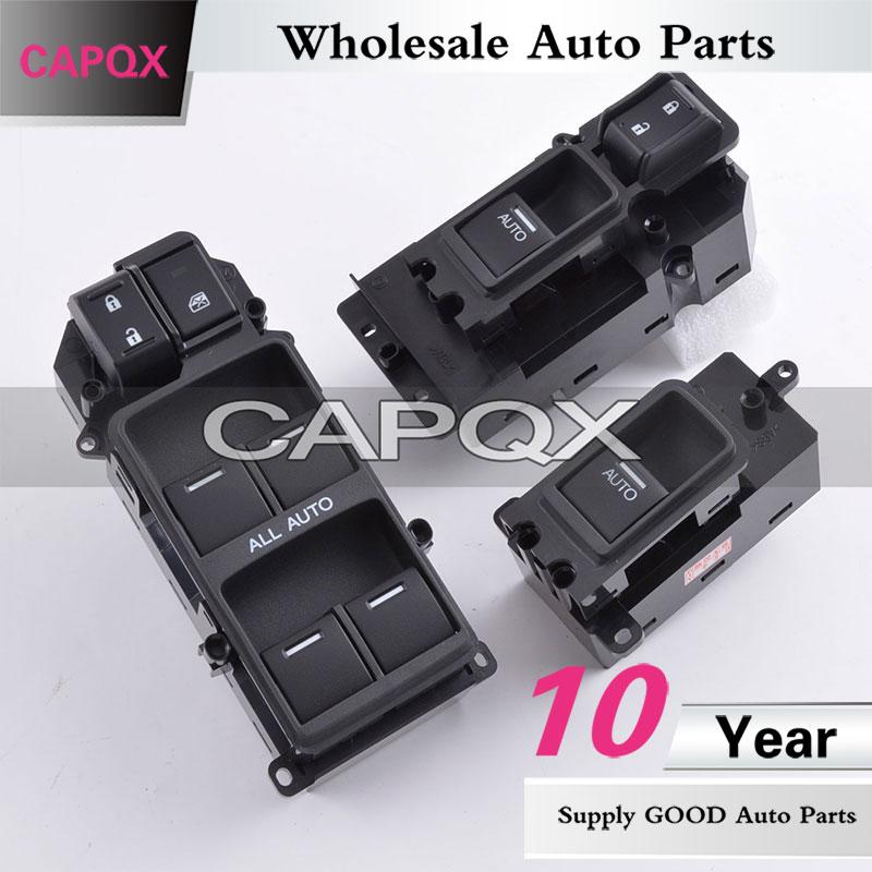 CAPQX Echte Original 4 TÜREN Power master fenster schalter 35770-TP5-H01 Für SPIRIOR Europa ACCORD CU1 Links