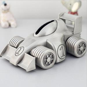 creative racing car piggy bank for Children's gifts money boxs for kids saving money box cash crafts decorative SNG087