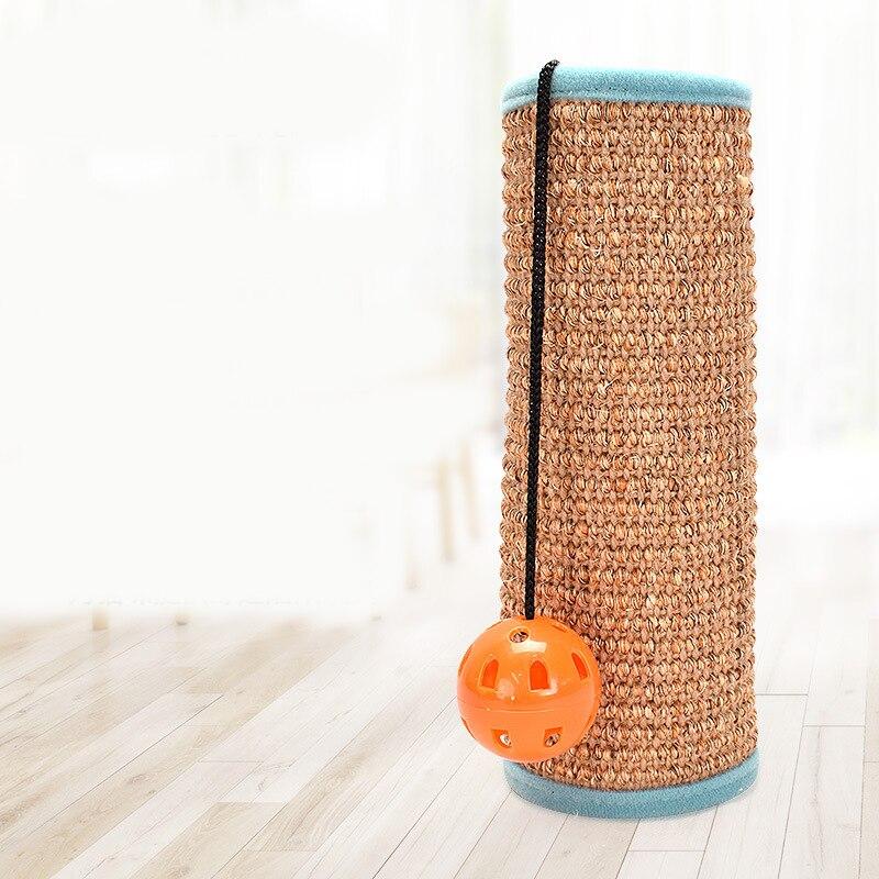 Tapis tissu chat griffoir naturel Sisal tapis jouet protecteur pour canapé chaise bureau jambes chat chaton gratter jouet griffoir