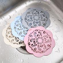 3x Hair Catcher Bath Drain Shower Strainer Sink Cover Trap Basin Stopper Filter