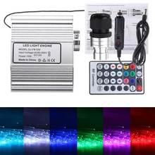 Offre spéciale 10W RGBW LED à distance fibre optique étoile plafonniers Kit télécommande outils électriques moteur léger