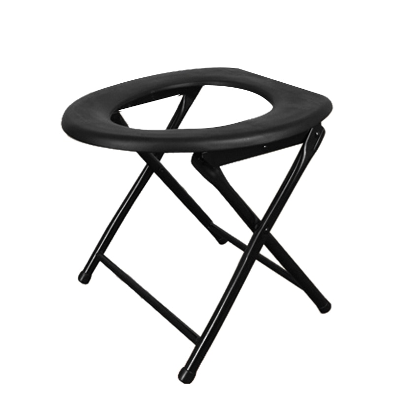 Portable Strengthened Foldable Toilet Chair Travel Camping Climbing Fishing Mate Chair Outdoor Activity Accessories enlarge