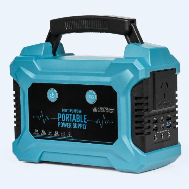 Portable Power Station 220Wh Emergency Backup Lithium Battery 200W AC Inverter Outlet Solar Generator enlarge