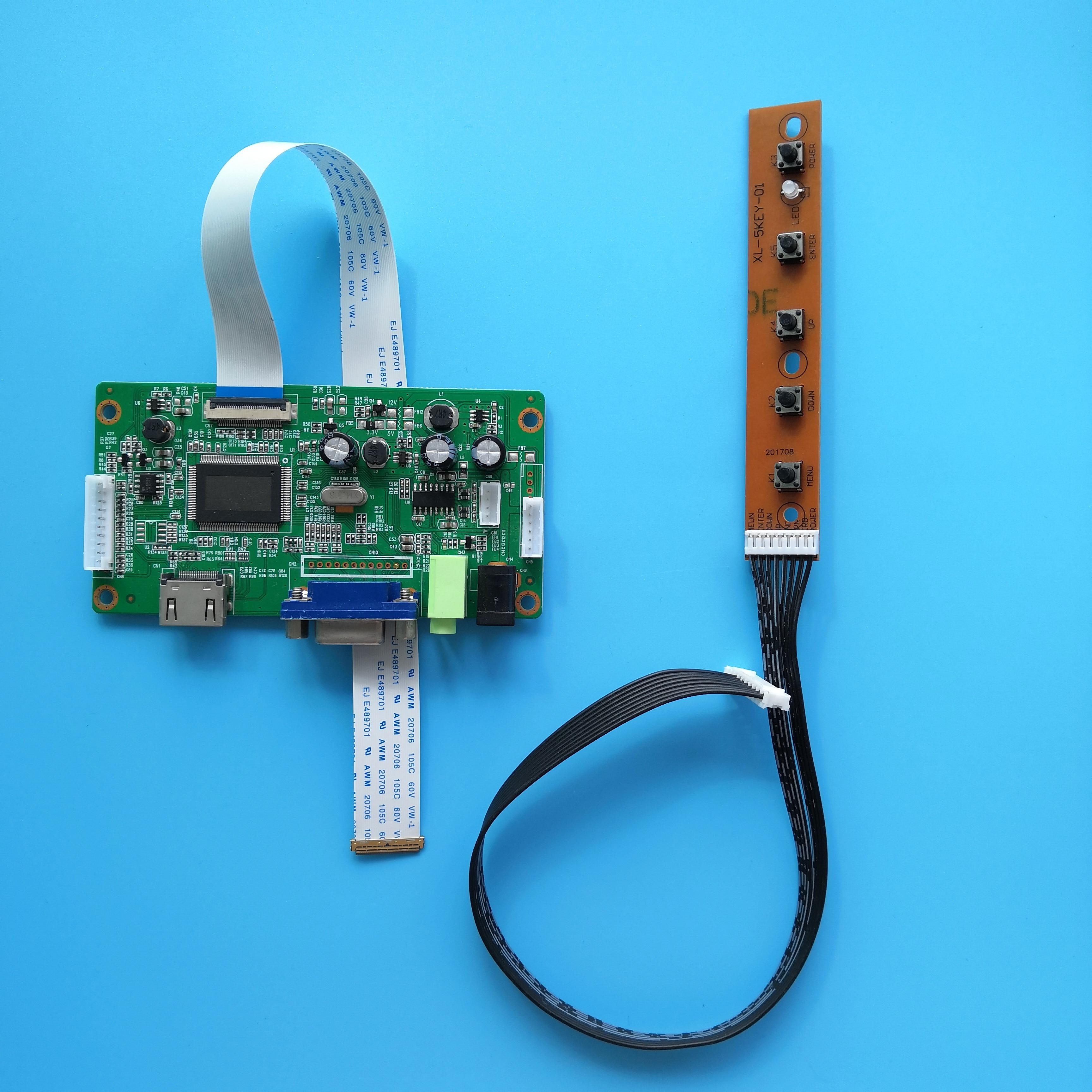 ل B156XTN07.1 1366X768 EDP LED لتقوم بها بنفسك LCD سائق تحكم مجلس 15.6