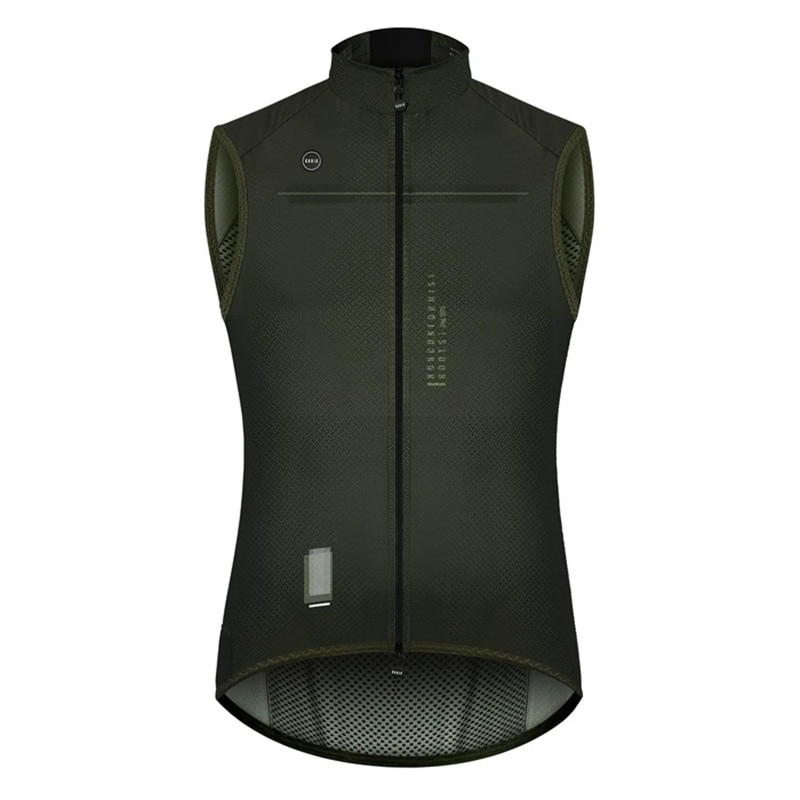 MEN'S Thermal Vest Cycling Jersey Lightweight Breathable Mesh Ropa Ciclismo MTB Windproof Vest Outdoor Bike Jacket