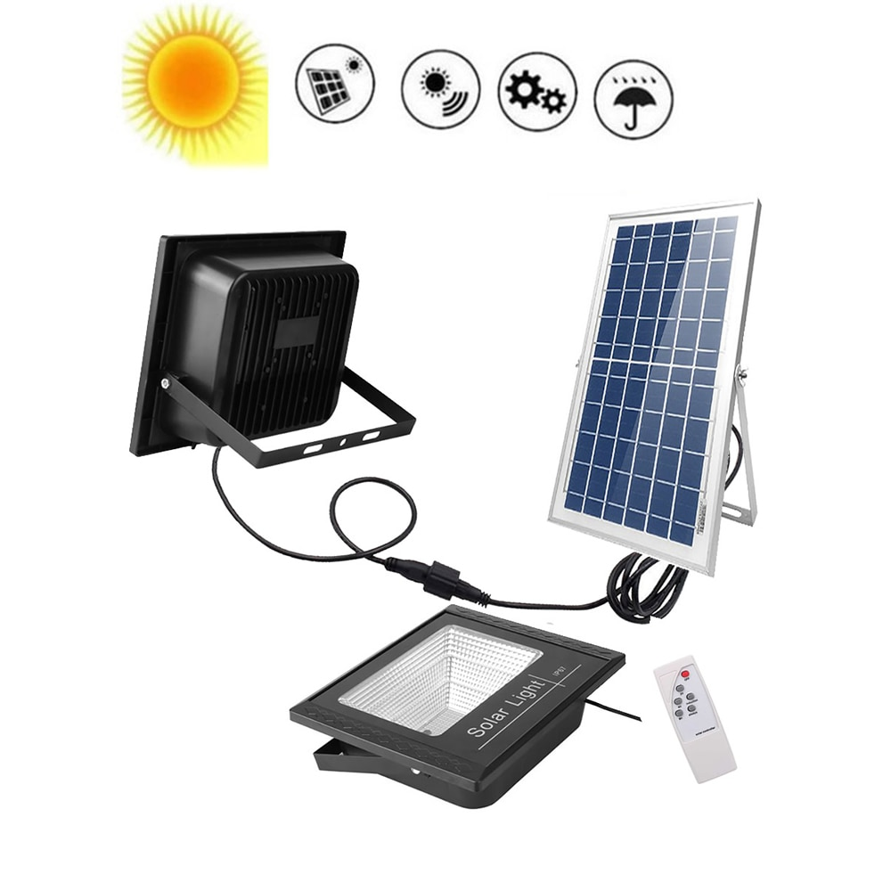 Solar Lights Outdoor 120/100 LEDs PIR Motion Sensor Activated Separable Light for Garden Security Waterproof Wireless Wall Lamp