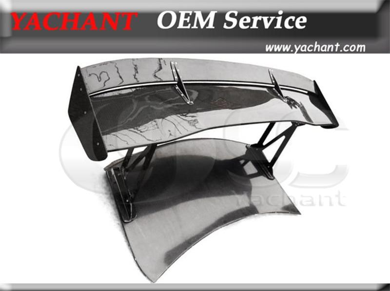 Alerón trasero FCF de fibra de carbono GT Wing 1600mm apto para 2008-2014 R35 GTR GTR35 VTX tipo 5 alerón trasero estilo GT Wing