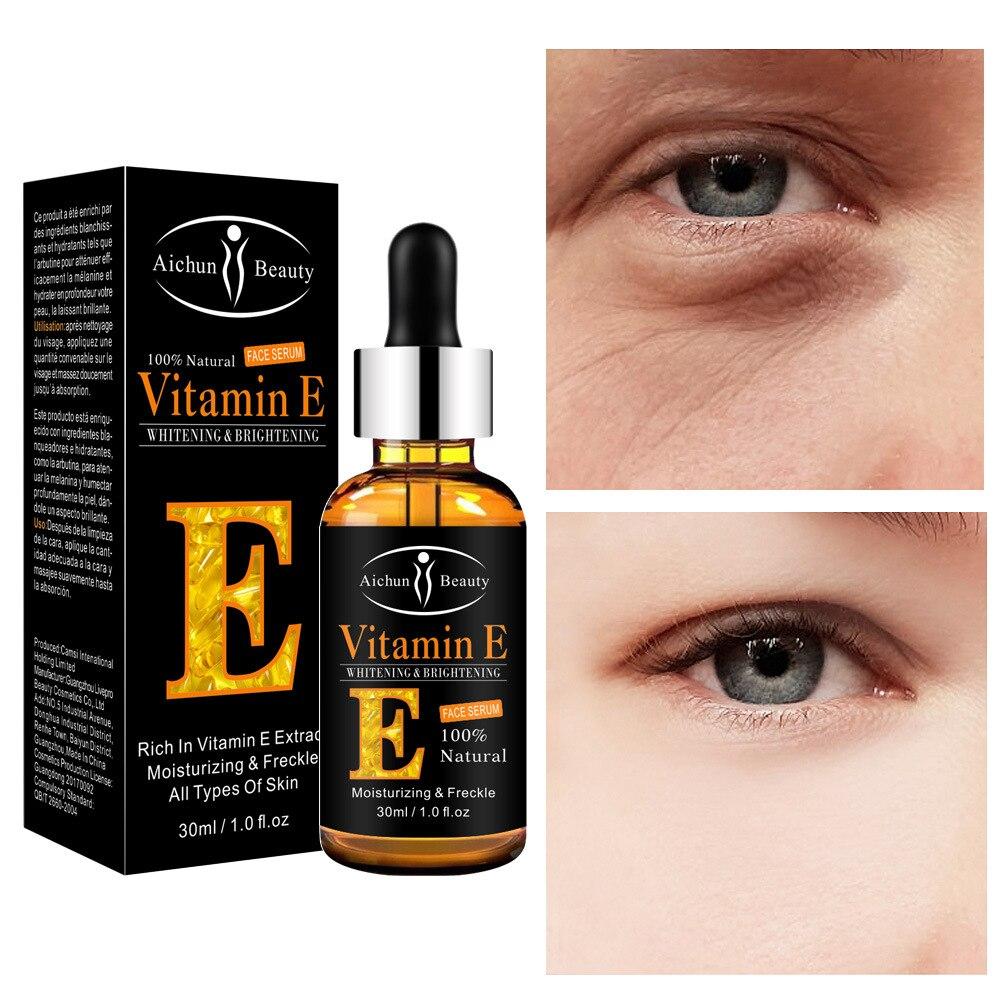 30ml Vitamin E Essence Eye Moisturizing Desalination Fine Lines Eye Bag Black Eyes Vitamin E Essence cremorlab t e n cremor essence tonic