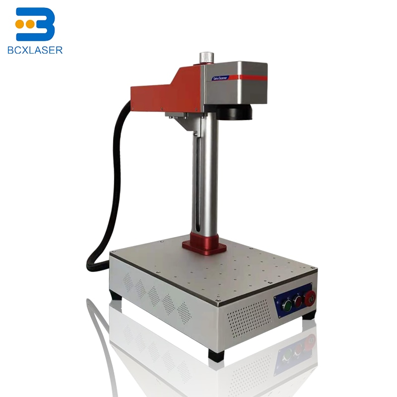 20W30W50W Fiber laser marking machine qr code laser engraving machine