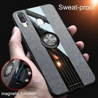 cloth pattern phone case for samsung galaxy a20 a30 a50 a30s a50s a70 a70s a20s a10s a40 m51 a90 5g magnetic ring bracket cover