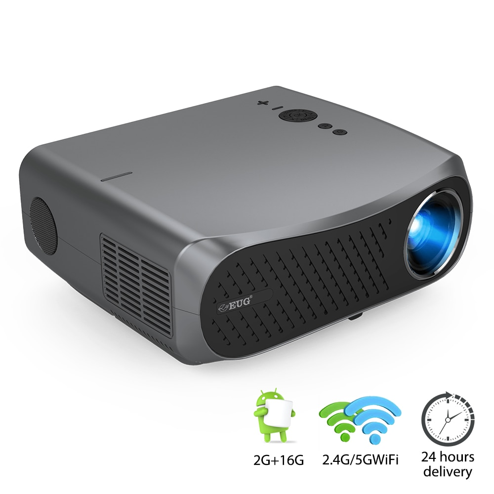CAIWEI Full HD 1080P Projector 900D Android WiFi LED Proyector Native 1920 x 1080P 3D Home Theater S