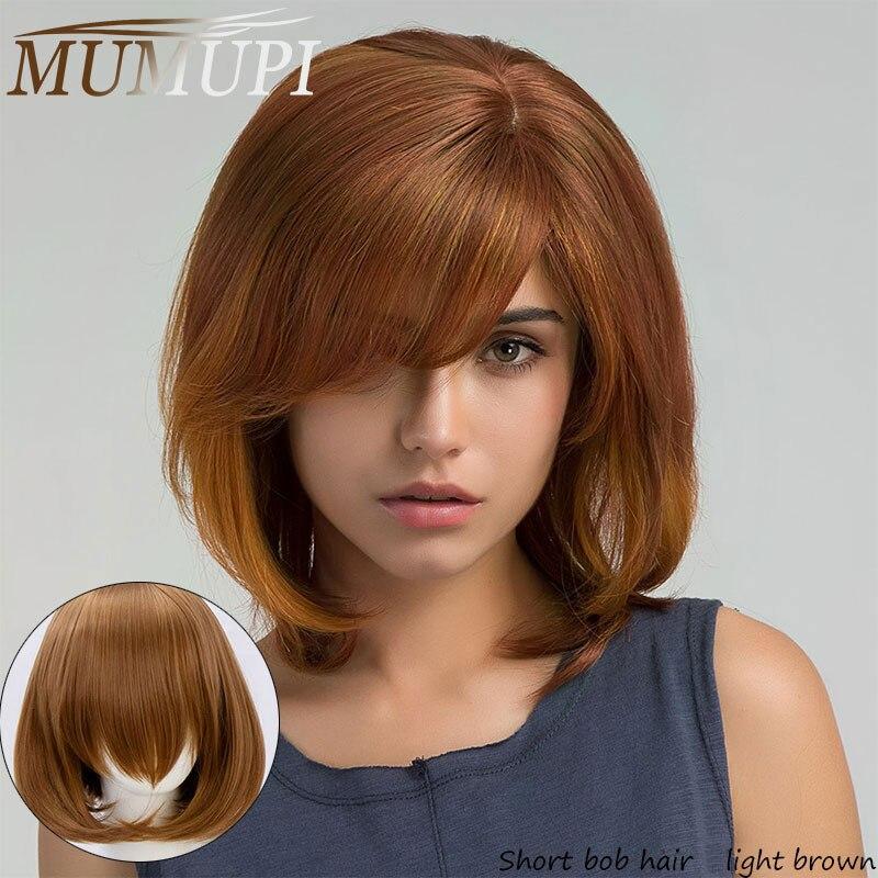 cabelo sintetico curto ondulado bob perucas com franja lolita cosplay peruca para
