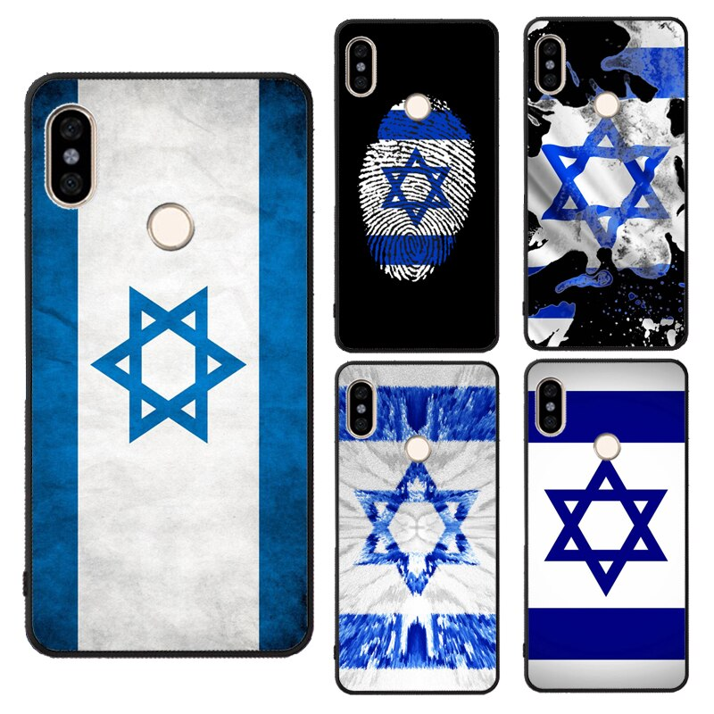 Bandeira de Israel no Dedo Para Xiaomi Redmi Nota 8 9S T 9 8 K30 Pro 7 7A 8A Mi A3 Max3 Mix3 Mi 9T 9 10 Note10